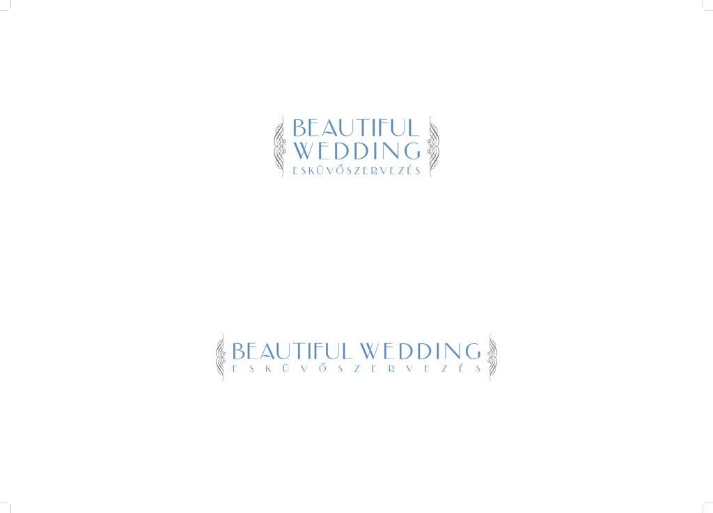 Esküvőszervező logó és névjegy egyedi arculattal, angol-magyar változatban, különleges kivitelezésben, határidőnaplóval