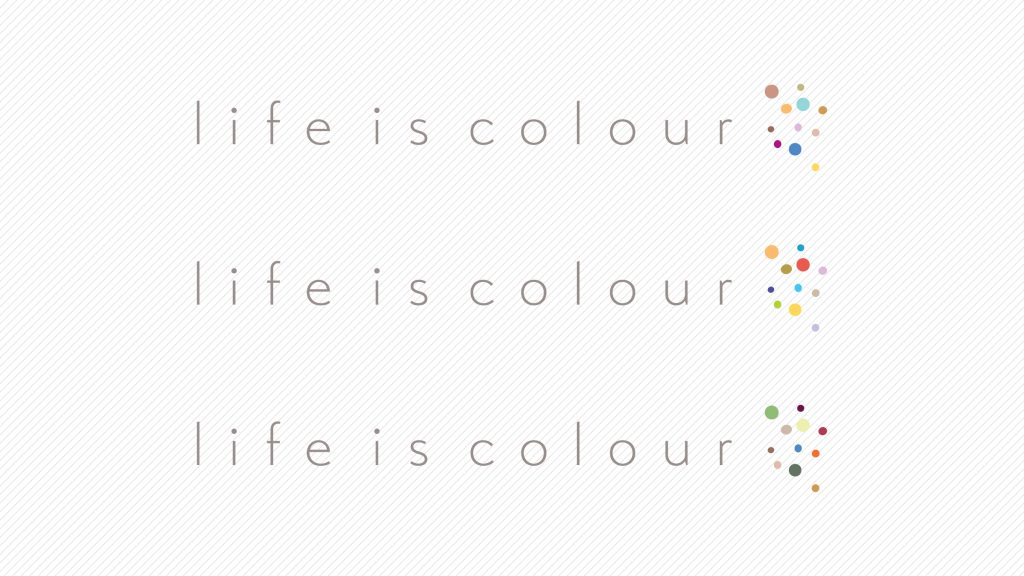dekor logó – egyedi tervezési folyamat, a megbízó által adott brief és a grafikus ötleteinek ötvözése és annak dokumentációja