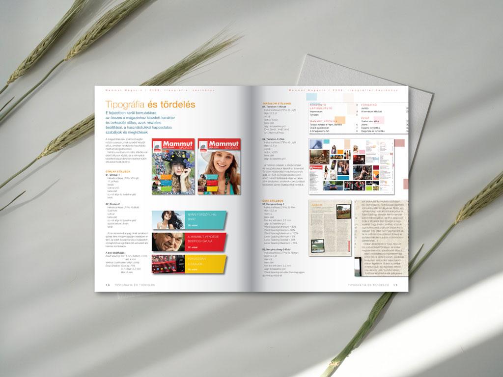 Magazin terv – címlap, margók és hasábok, mesteroldalak, tipográfia, szövegstílusok, rovatok, lay-out és a teljes kiadvány arculata